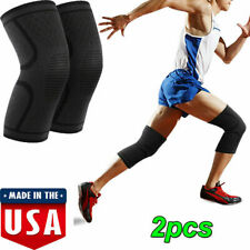 Breathable Anti-slip Knee Support Protector Brace Leg Sleeves Sports Pain Relief