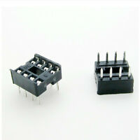 20 PCS 8 Pin DIP8 Integrated Circuit IC Sockets Adapters Solder Type CA Pop