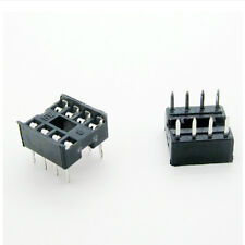 20 PCS 8 Pin DIP8 Integrated Circuit IC Sockets Adapters Solder Type