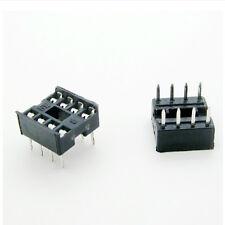 20 PCS 8 Pin DIP8 Integrated Circuit IC Sockets Adapters Solder Type SH