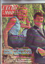 l'echo de la mode numero 30 - juillet 1962