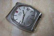 AN OMEGA ELECTRONIC f300 Hz GENEVE CHRONOMETER WATCH c.1972 NEEDS SERVICE