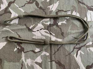Very Good British Army Officers Webley /  Browning Pistol Lanyard Genuine Issue