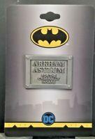 Batman Arkham Asylum Plaque Pin