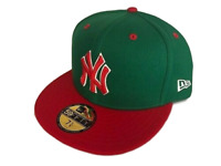 NEW YORK YANKEES NEW ERA 59FIFTY CUSTOM FITTED CAP HAT 7 3/4 *SHIPS IN A BOX*