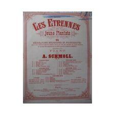 SCHMOLL A. Fanfare de Chasse Piano XIXe partition sheet music score