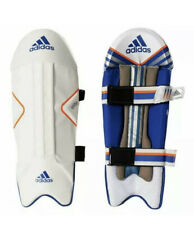 New Men's adidas Cricket Leg Guards Elite WK Wicket Keeping Pads $60 A97765