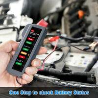 Car Automotive 12V Battery Load Tester Alternator Analyzer Diagnostic Test Tools