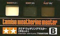 Tamiya Weathering Master - snow,soot & rust # 87080