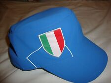 Italy National Football / Rugby Team Military Style Cap By Adidas Football Rugby