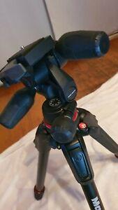 Manfrotto 190go Camera Tripod + 3 way MH804-3W head
