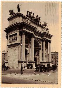 1960 MILANO ARCO DELLA PACE CARTOLINA VIAGGIATA
