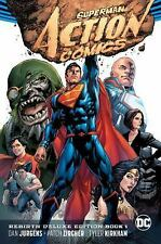 Superman Action Comics Rebirth Deluxe Coll HC Book 01  VeryGood
