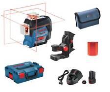 Bosch GLl 3-80 C en el L-Boxx + bm1 + 2,0 ah batería + CARGADOR líneas láser
