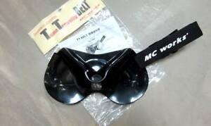 MC Works TT Tuna Trevally Fighting Belt Deep Gimbal Belt Black (0084)