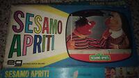 Gioco da Tavolo SESAMO APRITI anni '70 Boxed EG