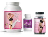 30 Tage Stoffwechselkur Paket Acai Fatburner Protein schnell Abnehmen Detox