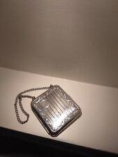 German Silver Vintage 1920s Cigarette Case Mini Purse