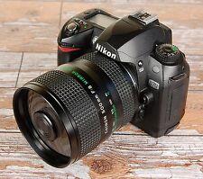 Nikon Digital fit CHINON 500mm F8 Mirror Lens ideal sport wildlife + Hood