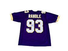 John Randle Signed Minnesota Vikings Jersey JSA