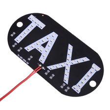 Auto Rot 45 LED Cab Taxi Taxischild Dachzeichen Licht Taxileuchte Lampe Stecker