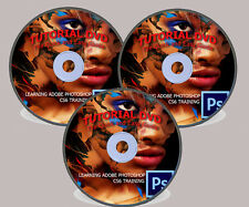 ADOBE PHOTOSHOP TUTORIAL VIDEO DVD 2016 - PS CS6 13 HOURS