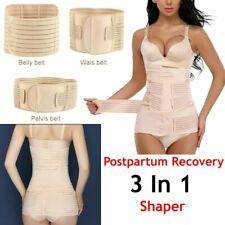 Postnatal 3 in 1 Postpartum Support Belly Waist Pelvis Belt Recovery Body Shaper