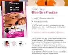 Wonderbox ''Bien-Être Prestige'' e-billet 65 € au lieu 75€ Novembre 2017