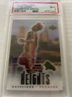 2003 Lebron James Upper Deck Redemption Special City Heights Rookie PSA 9
