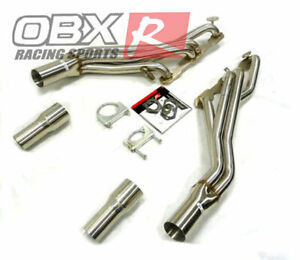 OBX Long Tube Header fits 96 to 99 Chevrolet Tahoe Suburban GMC Yukon 5.7L V8