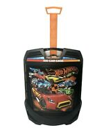 Hot Wheels 100 Car Rolling Carrying Case w/Extendable Handle 20135 Tara Toy Co.