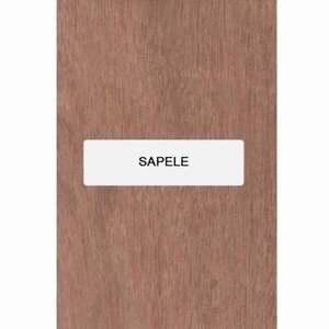 "Sapele Guitare Archtop Tailpiece Blank, 8 "" x 3.4 "" X 5/8 """