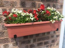 window box/ trough/planter brackets 170mm capacity heavy duty wall mounted