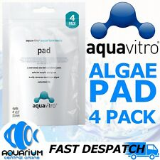 Seachem Aquavitro Algae Pad 4 Pack Acrylic or Glass Aquarium Fish Tank Cleaner