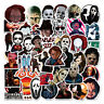 50PCS Mixed Horror Movie Character Stickers for Laptop Luggage Skateboard Decals