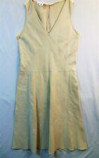b6d4b16de4 CALVIN KLEIN Beige SIMPLE SLEEVELESS DRESS Size 10 Women s LINEN BLEND