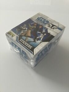 TOPPS - Merlin - Sealed Box Of 50no Packs - Star Wars The Clone Wars Stickers #2