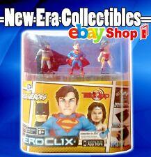 Heroclix - Super Heroes - Batman - Superman - Wonderwoman - Mini Action Figures