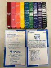 51 Learning Resources Tower Lot: Percent Cubes (LER 2512)