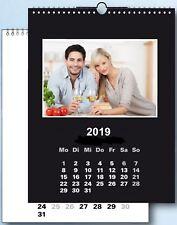 na-und Fotokalender 19x25 Bastelkalender DUO color 2019 für 10x15