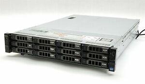 Dell PowerEdge R720XD Server 2*E5-2620V2 2.10GHz CPU 64GB RAM 12*2TB 2*300GB HDD