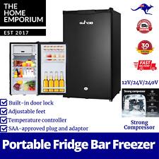Glacio 95L Portable Fridge Bar Freezer Cooler Upright 12V/24V/240V Caravan Car