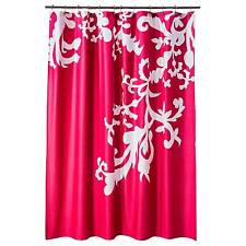 Pink Shower Curtain Set Curtains For Sale