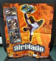 """Sony Playstation 2 Airblade Namco PS2 Criterion Game Poster Rare 21"""" x 16"""""""