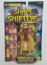 "Marvel Shape Shifters Sabretooth Transforming 6"" Action Figure Toy Biz 1999"