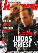 Magazin Metal Hammer 6/2001,Judas Priest,Cult,Nightwish,Scorpions,Bon Jovi