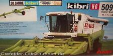 Kibri 50978 CLAAS Lexion 480 con Recolectores de maíz nuevo y emb. orig.