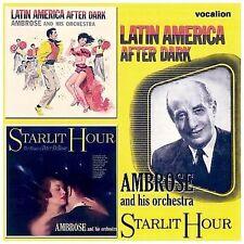 Latin America After Dark/Starlit Hour by Ambrose (CD, Jul-2008, Dutton Vocalion)