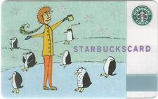 """STARBUCKS Gift CARD """"PENGUIN GAMES"""" ©2003 MINT ORIGINAL"""