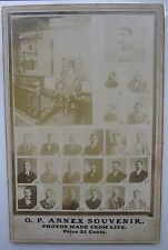ANTIQUE COLUMBUS OHIO OH PRISON ELECTROCUTION CHAIR DEATH ROW CABINET CARD PHOTO